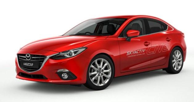 Mazda3 Skyactiv CNG