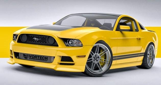 Mustang Vortech 2015