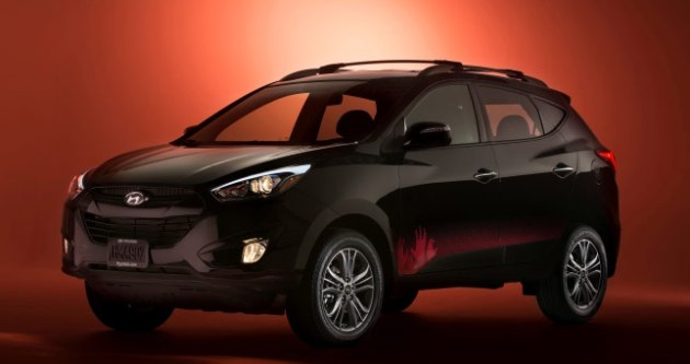 Hyundai Tucson The Walking Dead