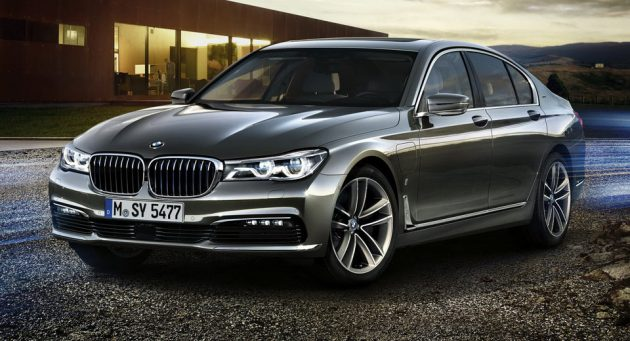 BMW 740e Hybrid 2017