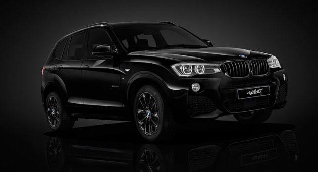 BMW X3 2017 Black Edition