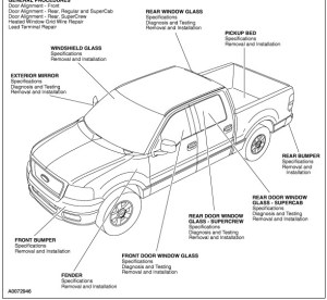 2004 2005 Ford F150 Manual De Taller, Diagramas y Diagnosticos