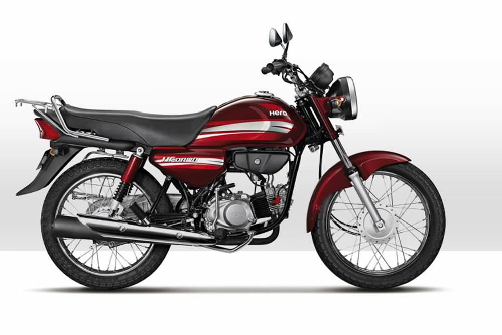 Hero HF Dawn Motorcycle Specification