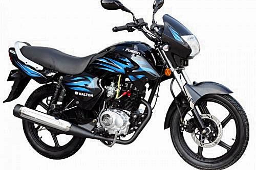 Walton Fusion 125EX Motorcycle Specification