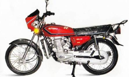 Butterfly BML-80 Motorcycle Speicification