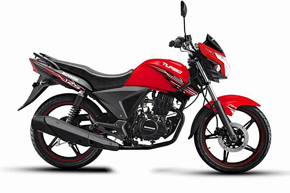 Runner Turbo 125 Motorcycle Specification