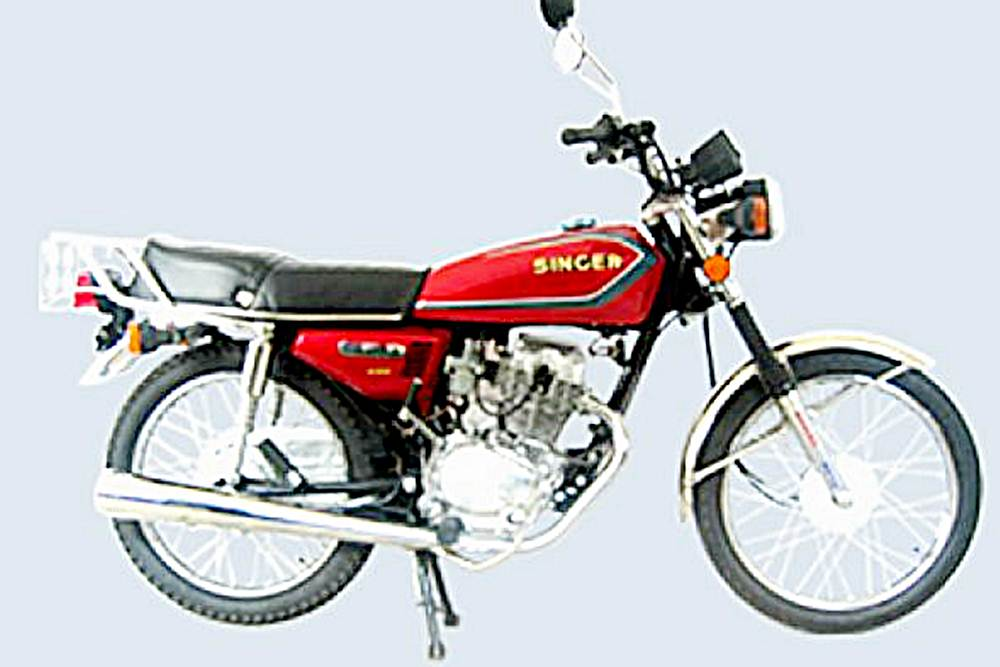 Singer SM100-3 Motorcycle Specification