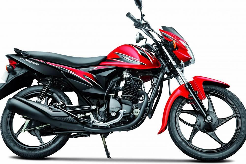 Suzuki Hayate Motorcycle Specification