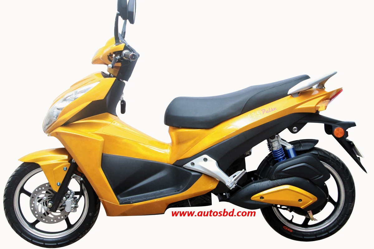 Green Tiger GT5 Pulse Electric Motorcycle Specification