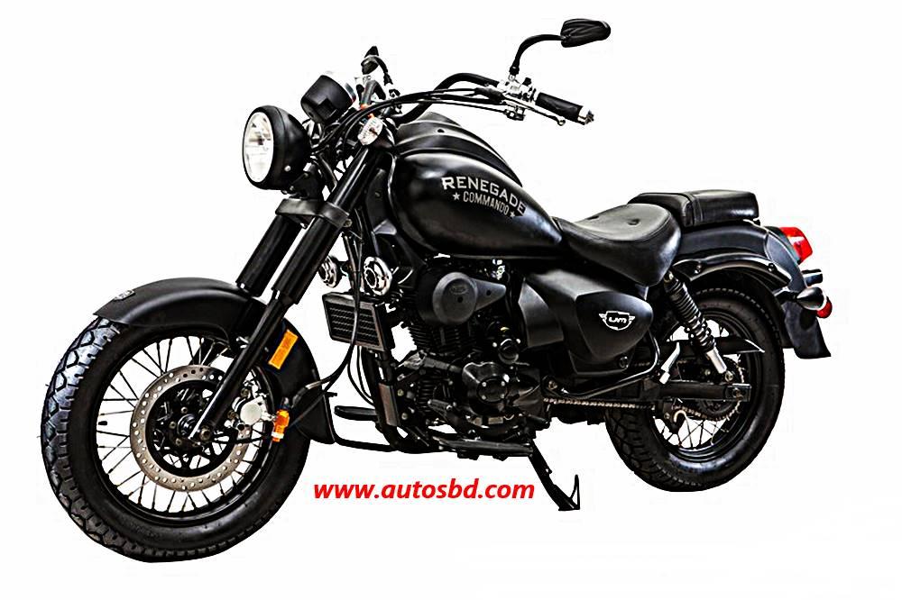 UM Renegade Commando 150cc Motorcycle Specification