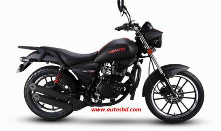 Znen Vento 150cc Motorcycle Specification