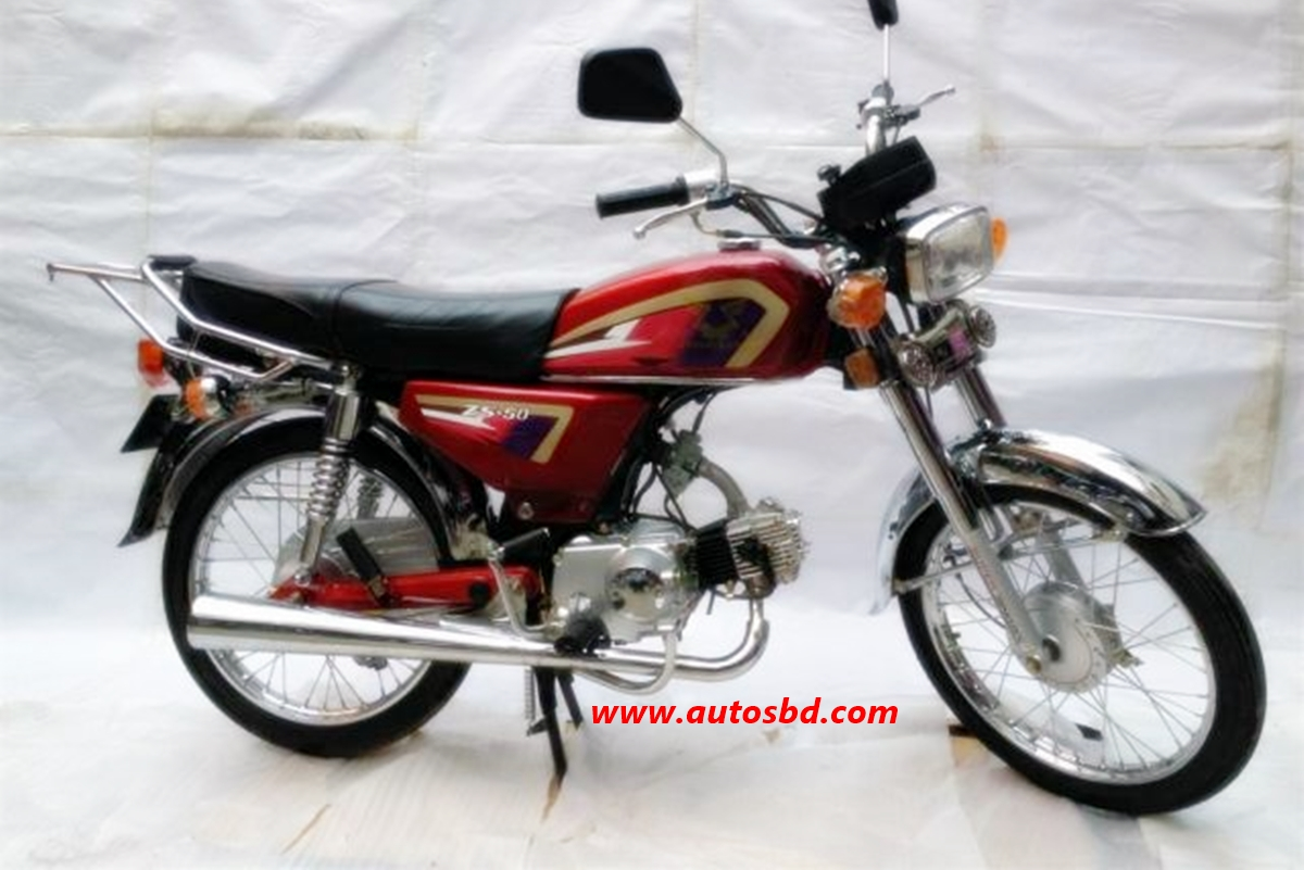 Zongshen ZS-50 Motorcycle Specification