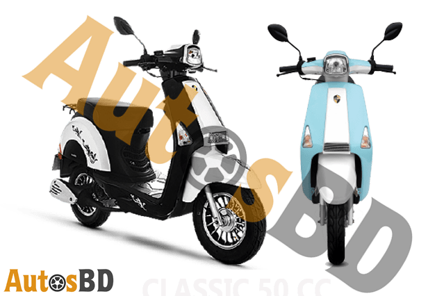 Znen Classic 80cc Scooter Specification