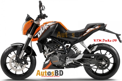 KTM Duke 150 Specification