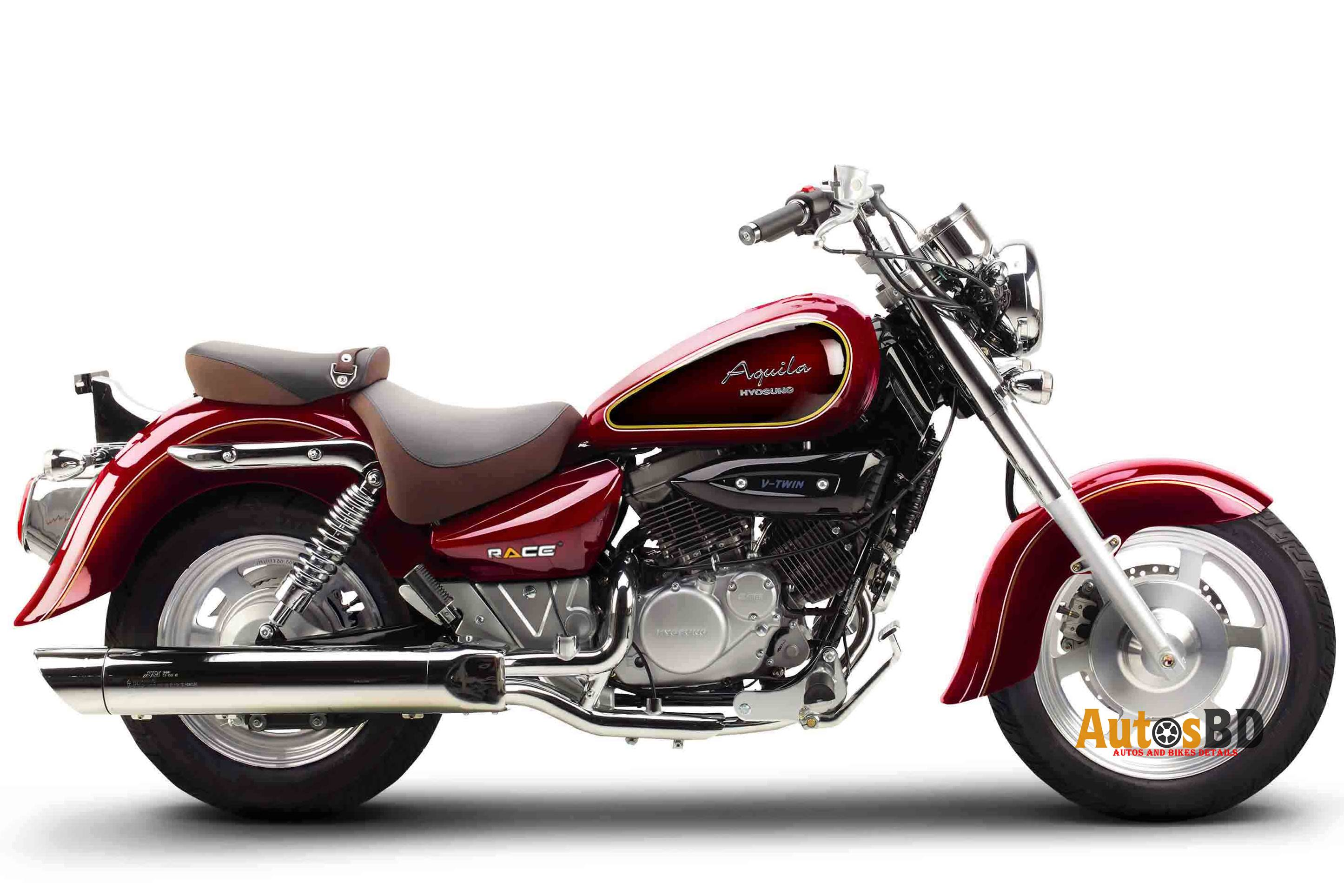 Race Hyosung Aquila 125 Motorcycle Specification