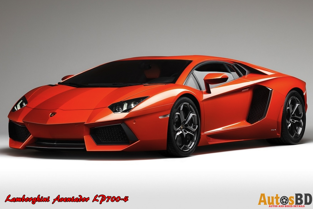 Lamborghini Aventador LP700-4 Specification