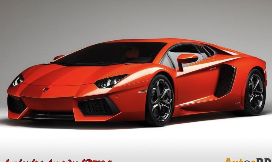 Lamborghini Aventador LP700-4 Specification