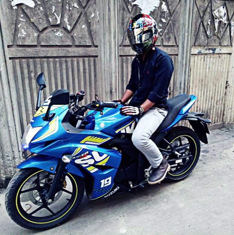 Gixxer Sf Moto Gp Edittion