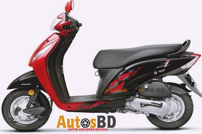 Honda Activa I Motorcycle Specification