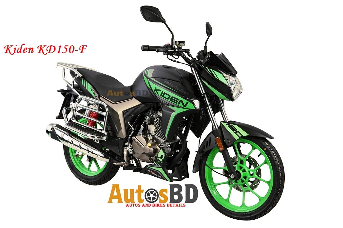 Kiden KD150-F Motorcycle Specification