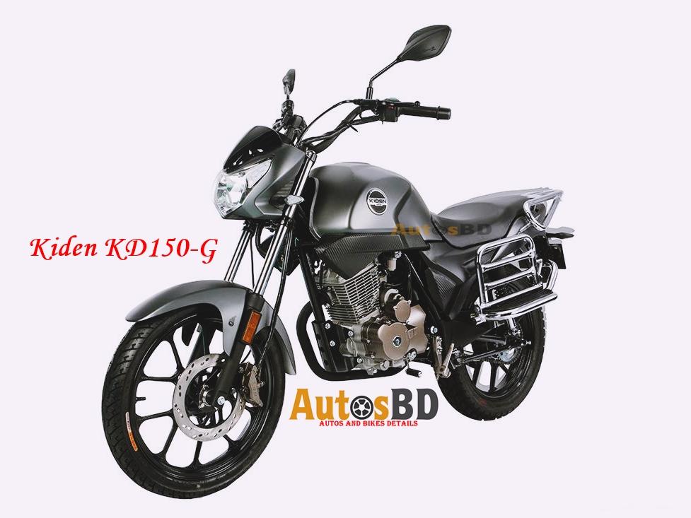 Kiden KD150-G Motorcycle Specification