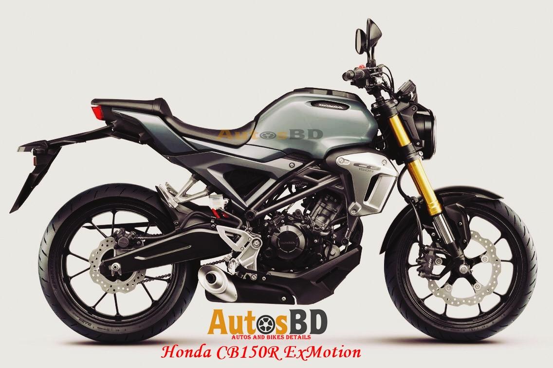 Honda CB150R ExMotion Specification