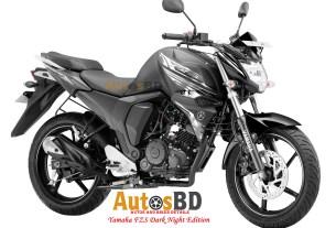 Yamaha FZS Dark Night Edition Motorcycle Price in Bangladesh