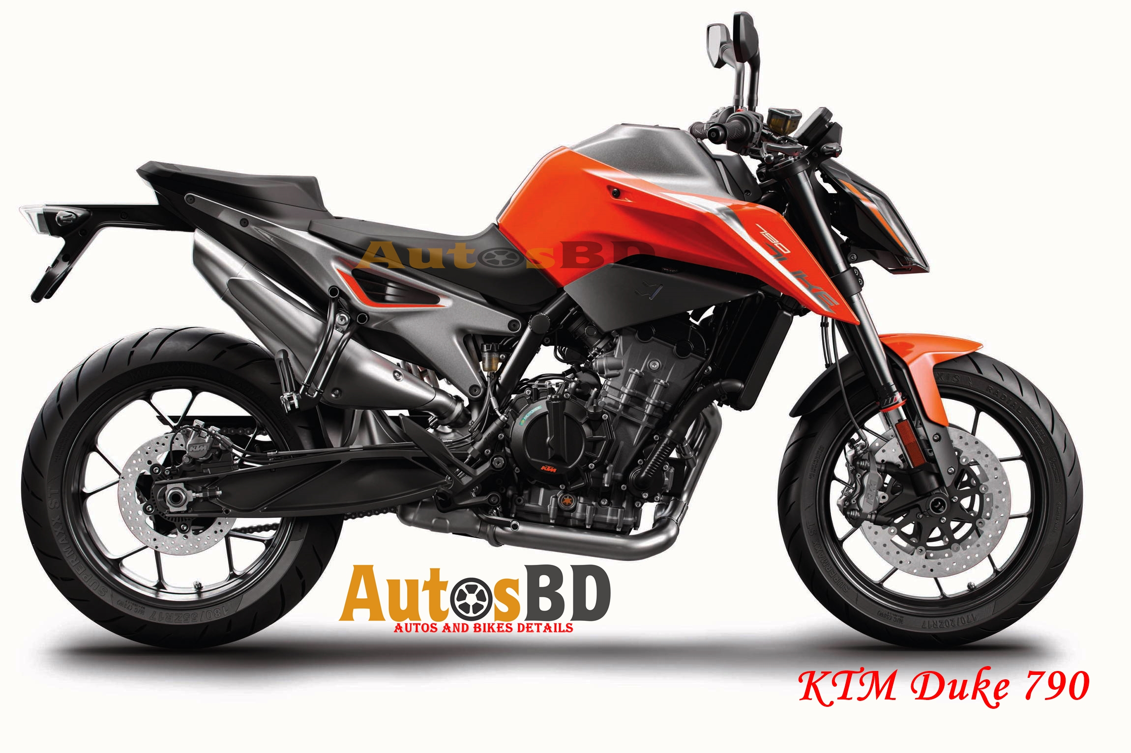 KTM Duke 790 Motorcycle Specification
