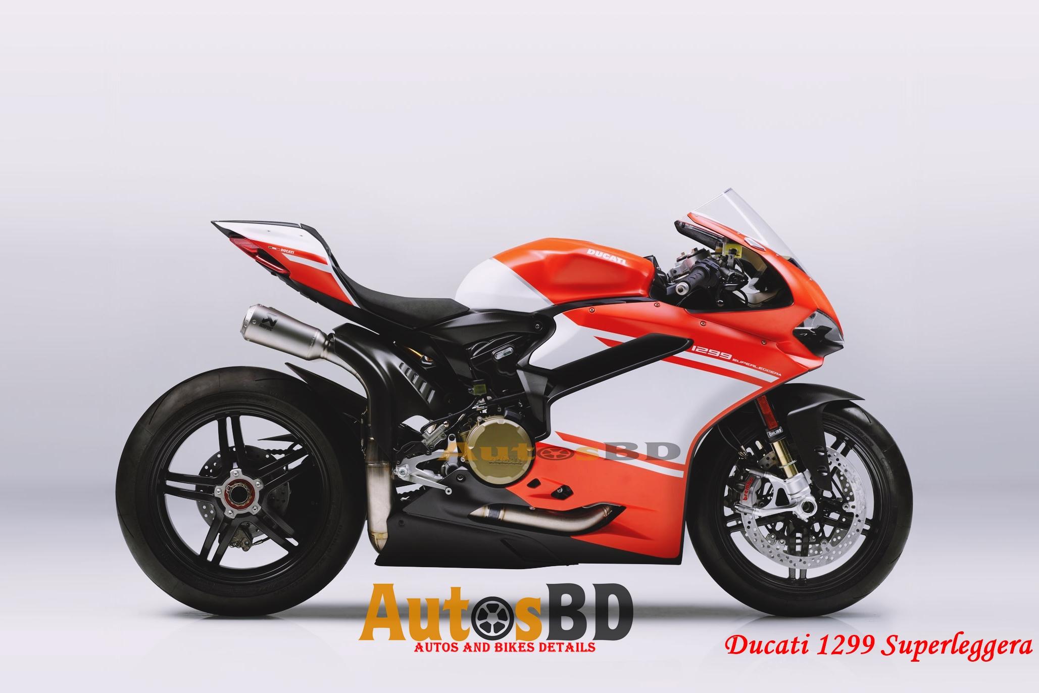 Ducati 1299 Superleggera Motorcycle Price in India