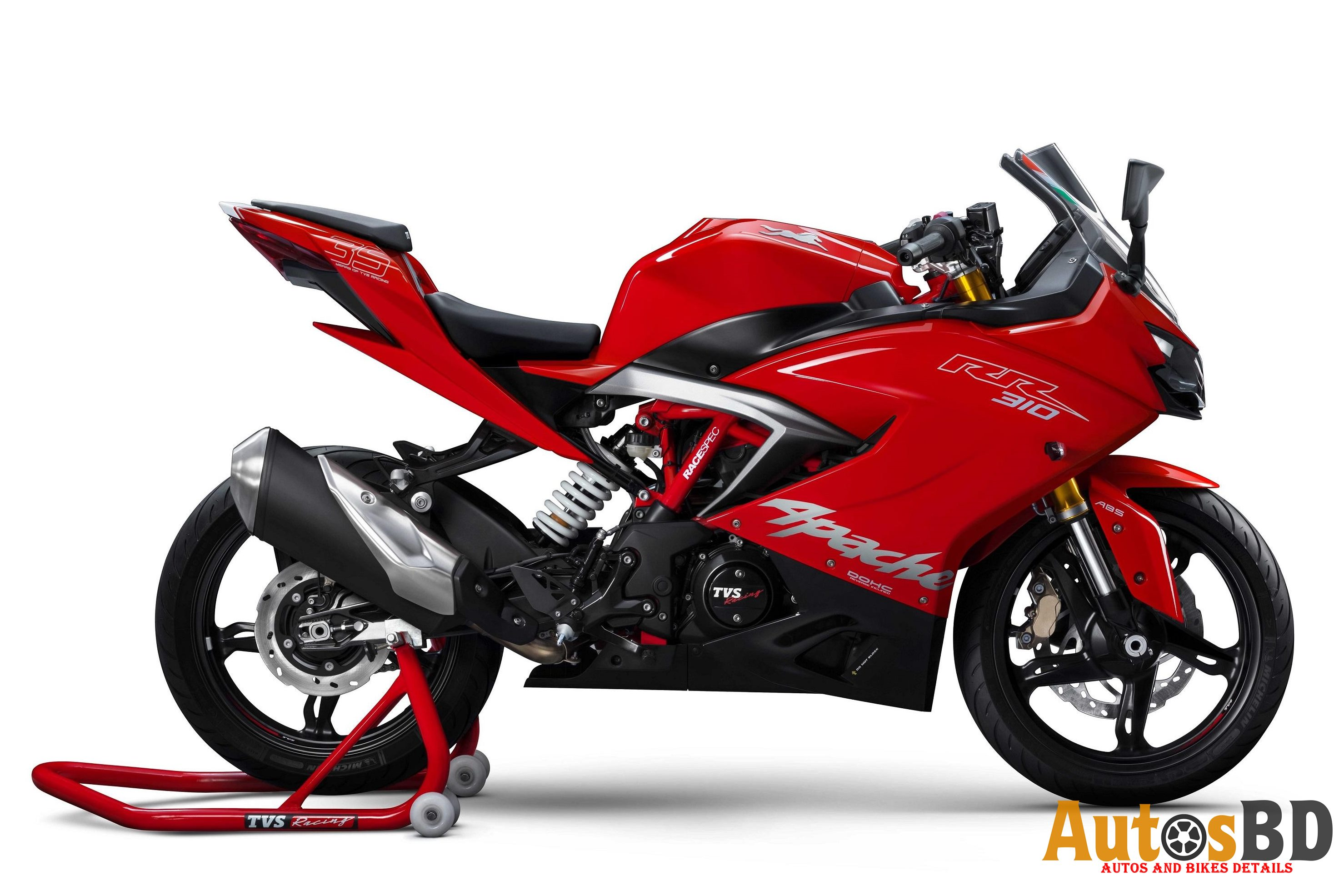 TVS Apache RR 310 Motorcycle Specification