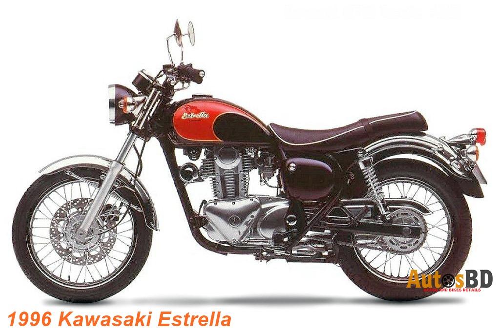Kawasaki Estrella 175 Specification