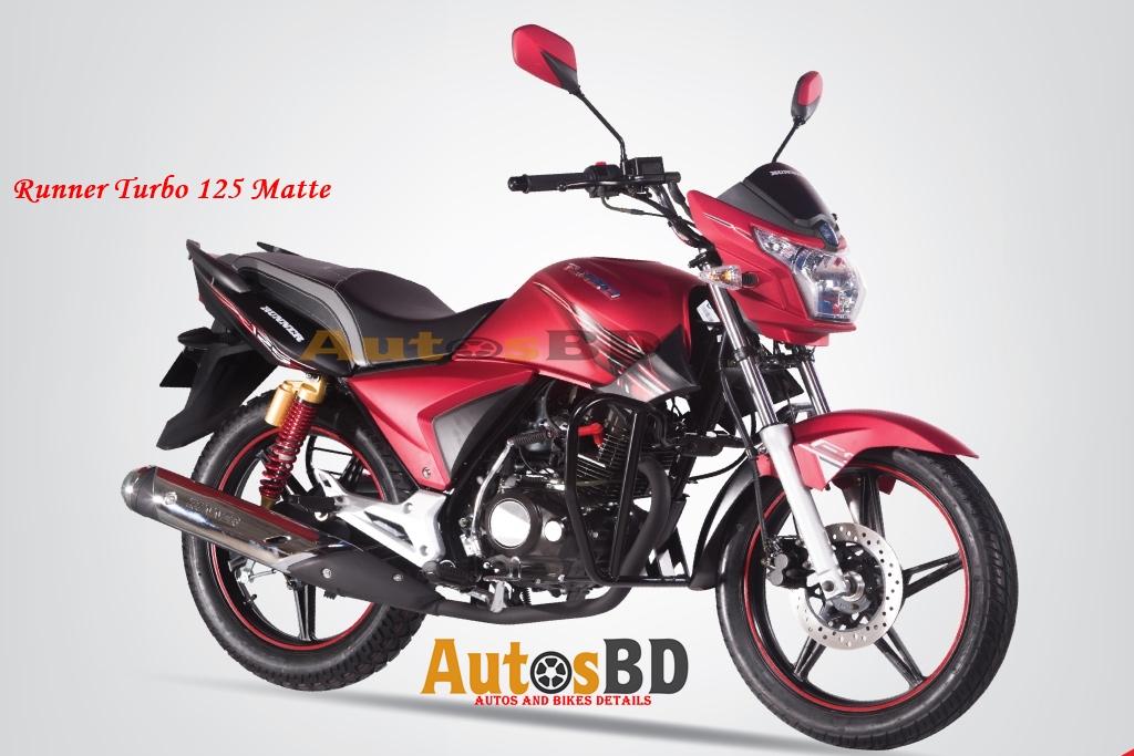 Runner Turbo 125 Matte Price in Bangladesh