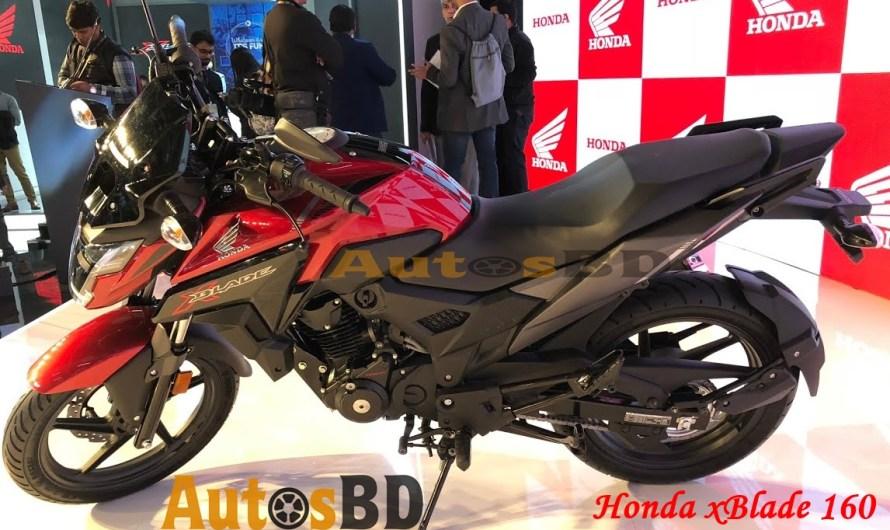 Honda xBlade 160 Specification