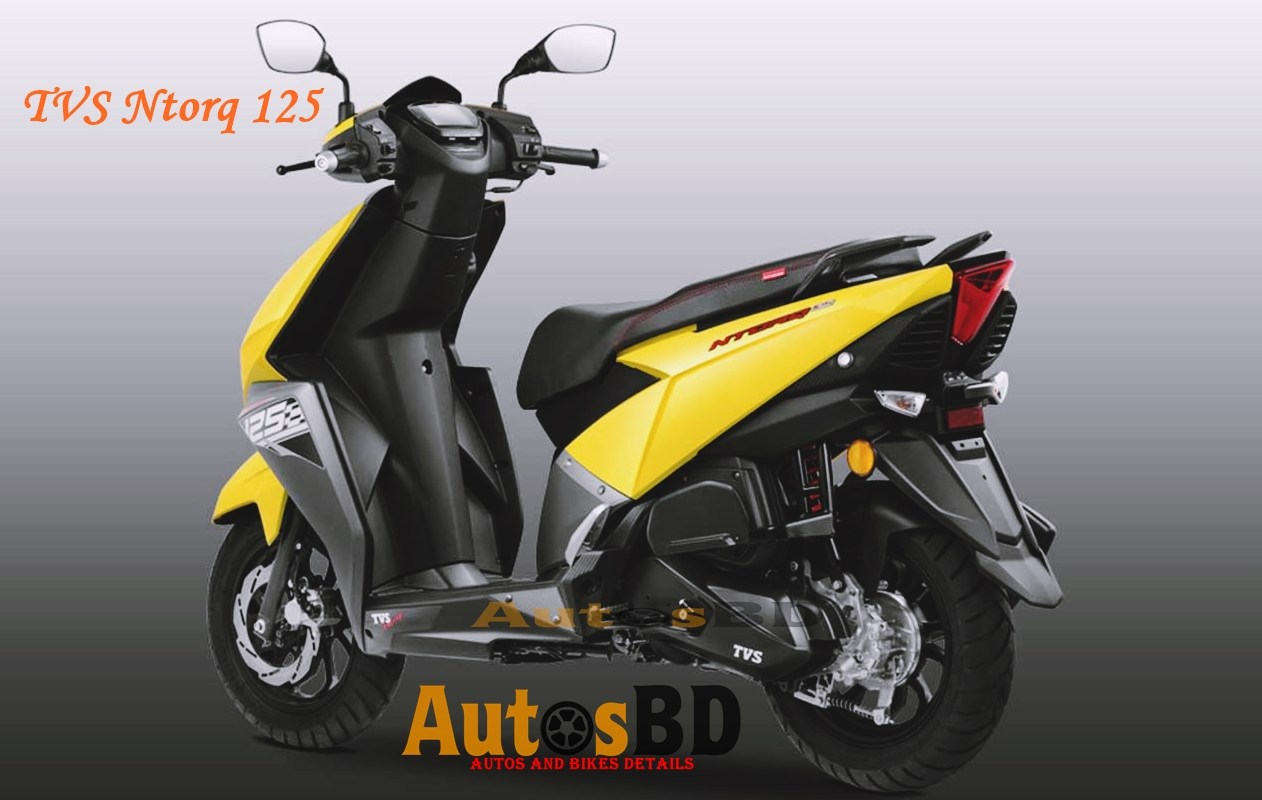 TVS Ntorq 125 Price in India