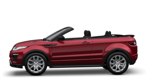 Range Rover Evoque cabrio for rent