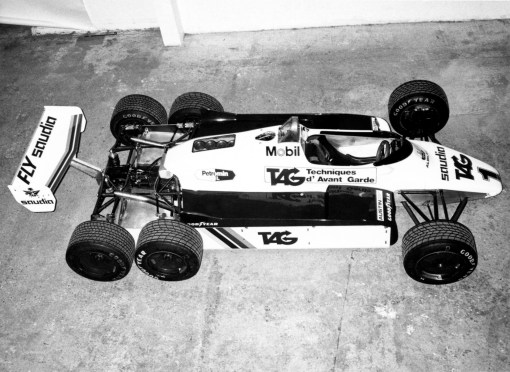 Le 6 ruote in Formula 1: Williams FW07D