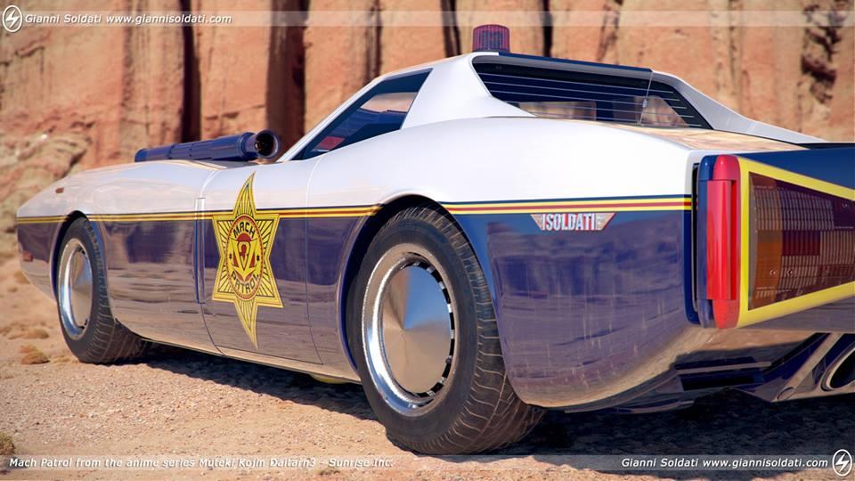 Mach Patrol Daitarn 3