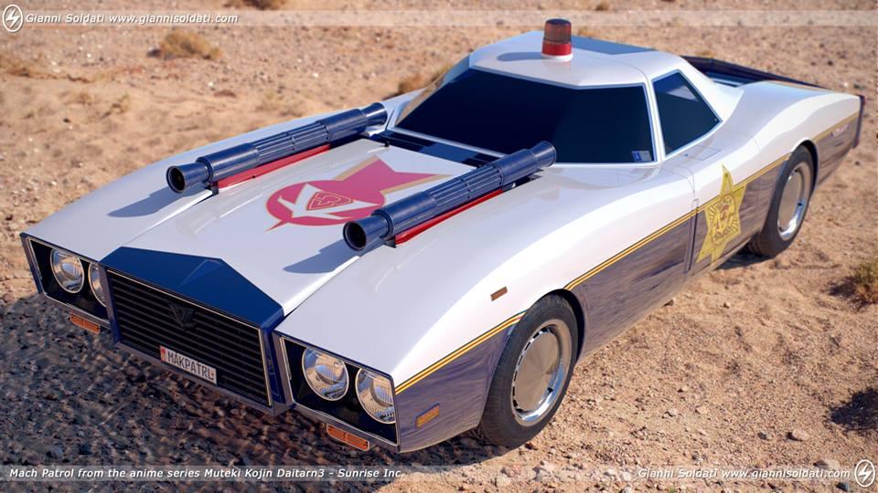 Mach Patrol e Machine Hayabusa (Daitarn 3 e Ken Falco)