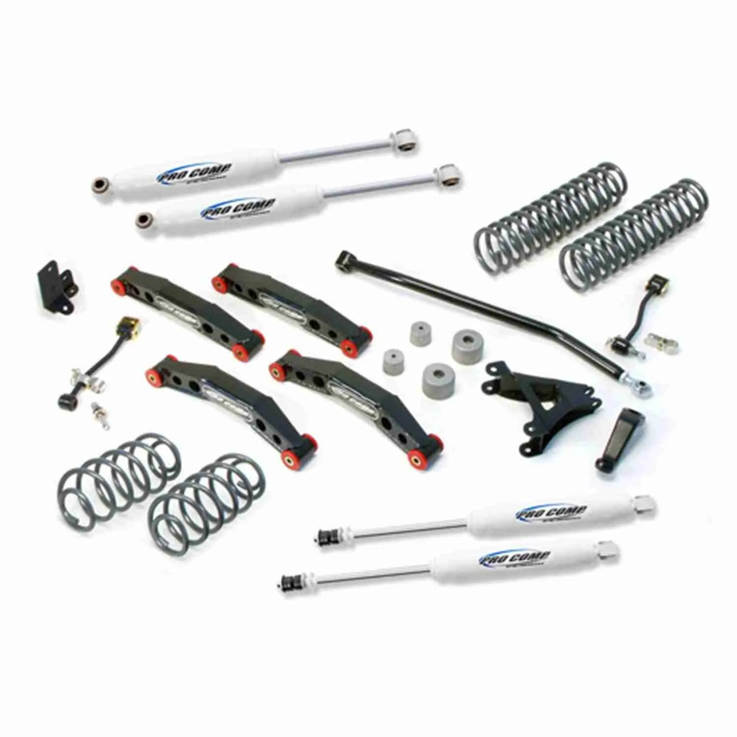 Pro Comp 4 Stage 2 Suspension Lift Kit For Jeep