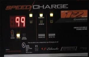microprocessor controlled by schumacher battery charger