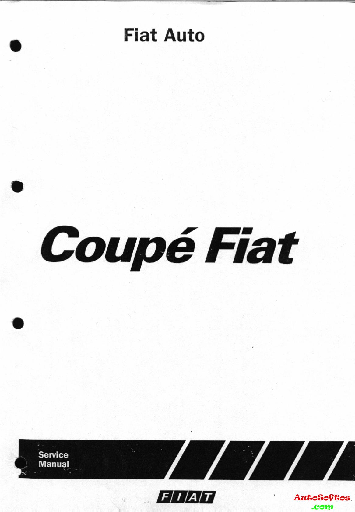 Fiat Coupe Workshop Manual