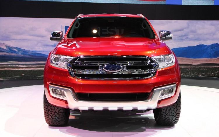 Фотоснимок нового 2016 Ford Ranger