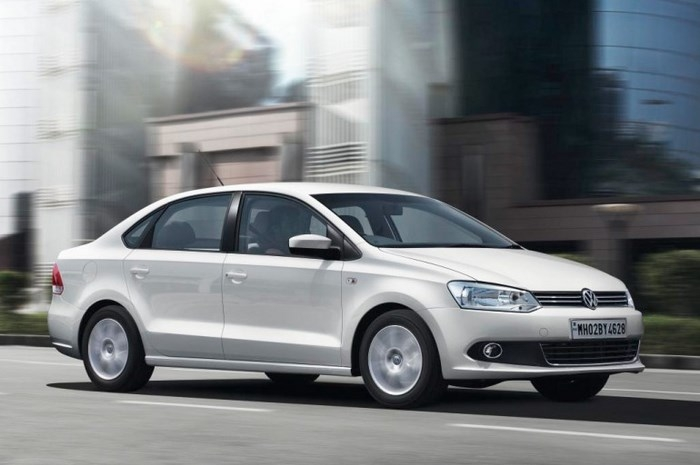 На фотоснимке - Volkswagen Polo sedan 2015