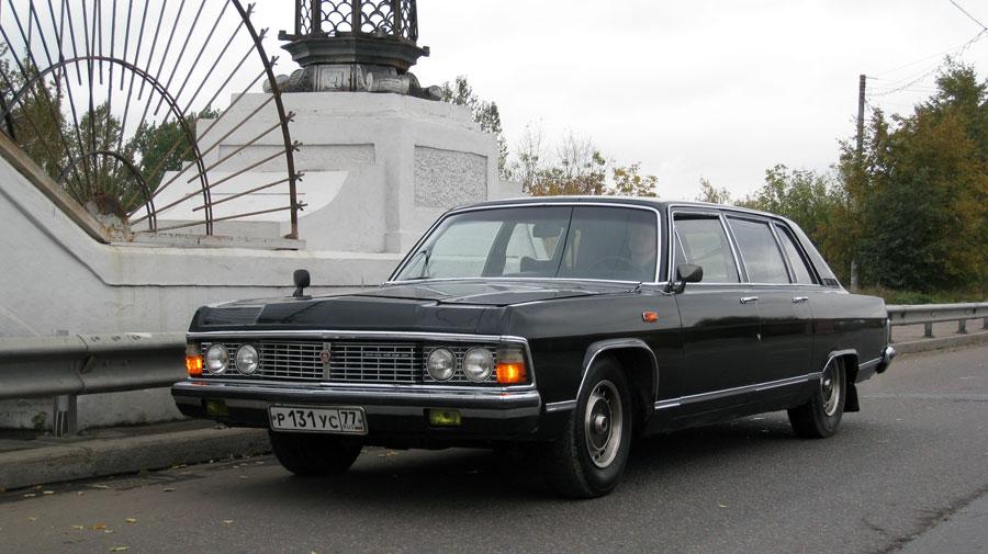 ГАЗ 14 - легендарная Чайка, ушедшая из производства