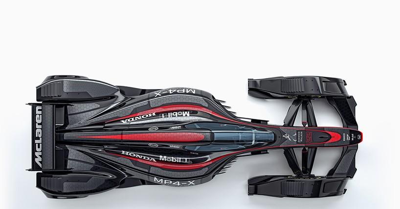 Концепт гоночной машины McLaren Honda MP4-X