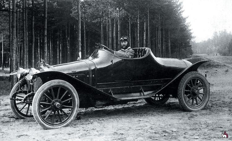 Руссо-Балт С24-55 - первый отечественный гоночный автомобиль