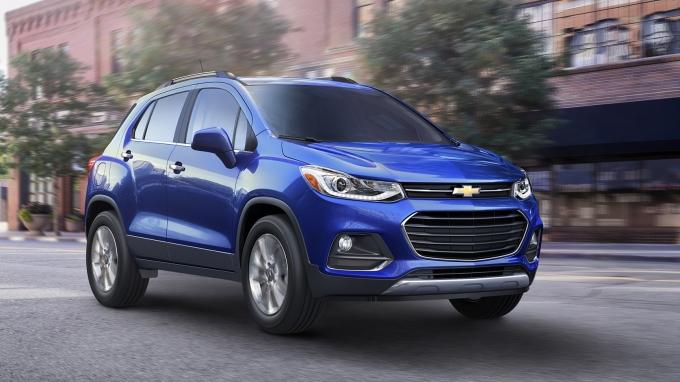 Chevrolet Trax: сделал лицо попроще