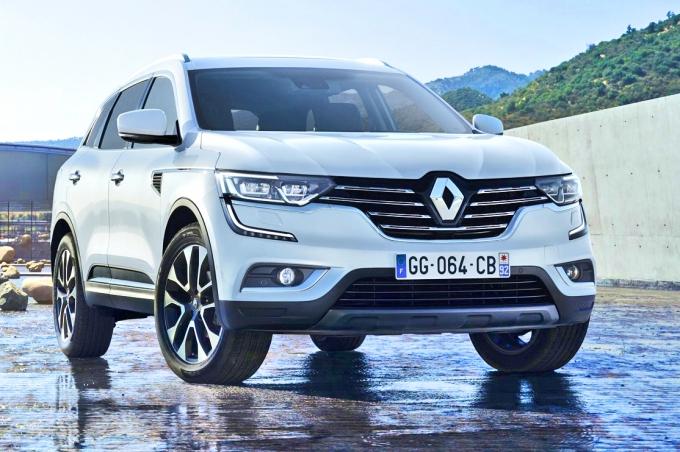Renault Koleos получил звание без очереди