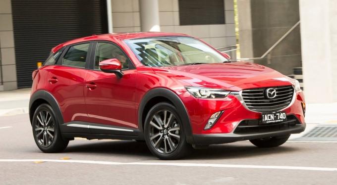 Mazda отзывает кроссоверы CX-3