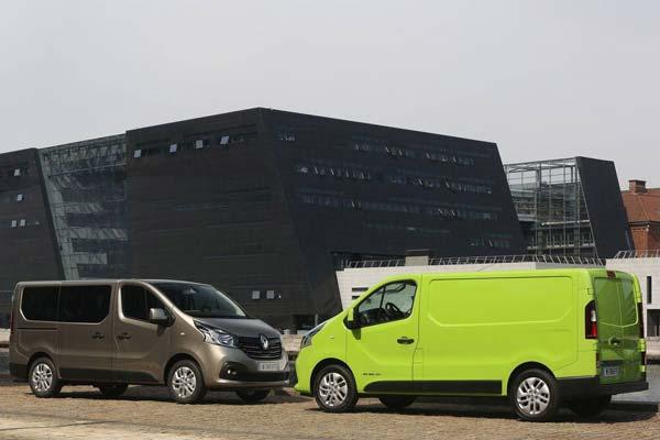 Комплектации и цены Renault Trafic